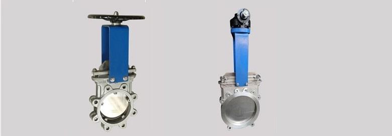 manual knife valve