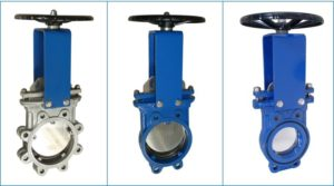 knife gate valve types